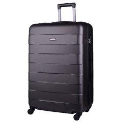 0e87a981bb526 Duża walizka KEMER 401 L Szara