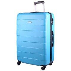 ef76468cc3cfb Duża walizka KEMER 401 L Turkusowa