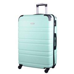 f644fcddb33c3 Duża walizka KEMER 608 L Jasnozielona