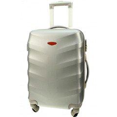 3c46bcb94d446 Duża walizka KEMER 81 L Srebrna