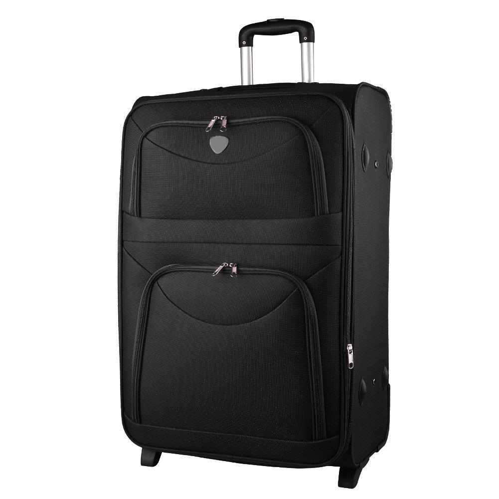 a22436c23a4eb Duża walizka KEMER 6802 L Czarna - KEMER - Sklep KEMER.pl