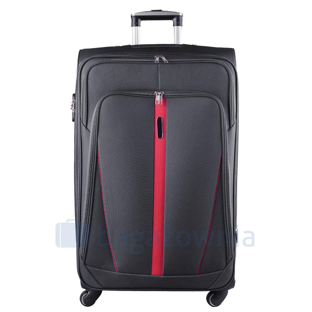 69a923718b0bb Mała kabinowa walizka KEMER 1706 S Szara - KEMER - Sklep KEMER.pl