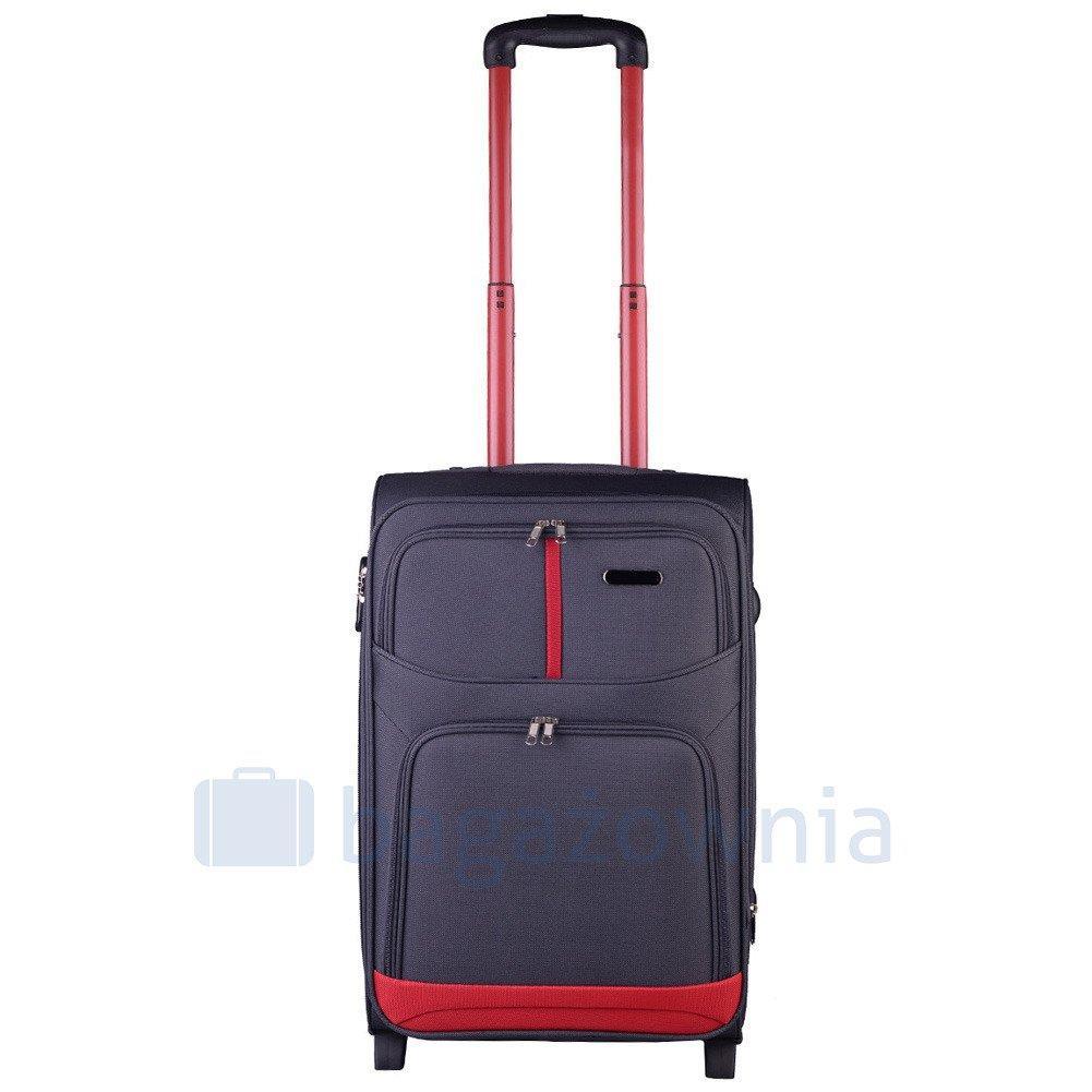 1c4e07ff11d99 Mała kabinowa walizka KEMER 206 S Szara - KEMER - Sklep KEMER.pl
