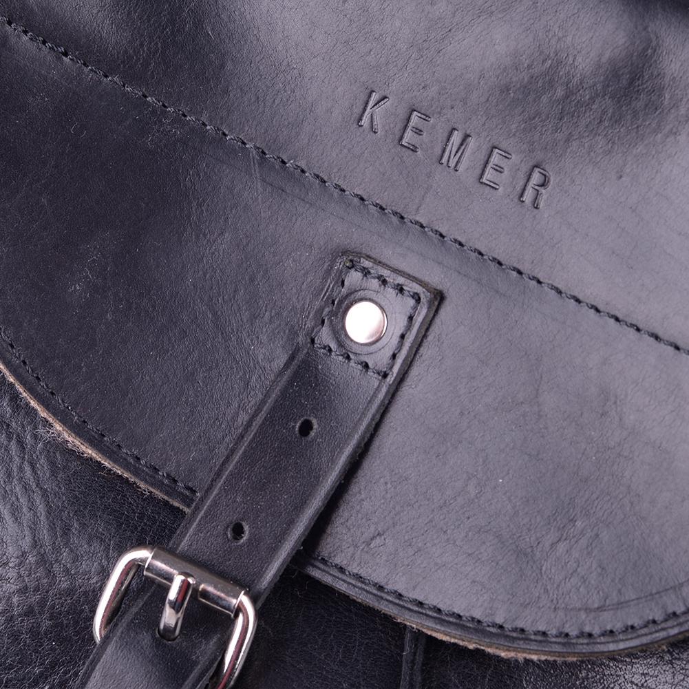 3f054ad2875d0 Plecak skórzany KEMER 905/ JUCHT Czarny - KEMER - Sklep KEMER.pl